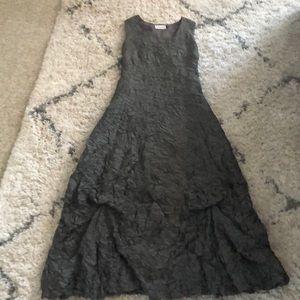 """Sharagano Paris """"Crinkle"""" Dress"""